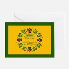 Opinions of the Husband Greeting Card