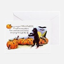 Song of Halloween Greeting Card