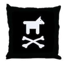 Doggie Style Modern Jolly Roger Cabin Pillow