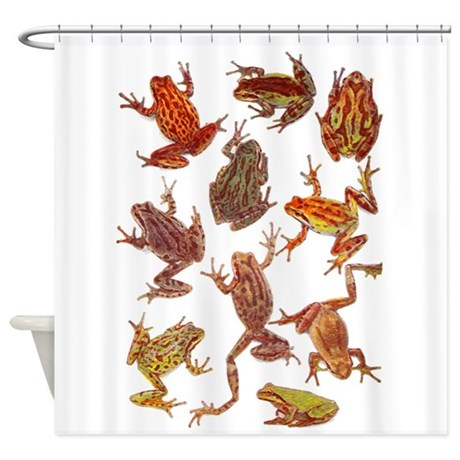 Tree Frogs Shower Curtain By ROCK OF AGES