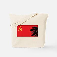 Lenin Soviet Flag Tote Bag