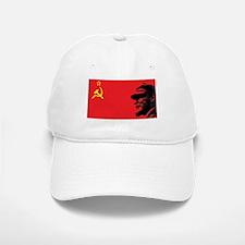 Lenin Soviet Flag Baseball Baseball Cap