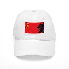 Lenin Soviet Flag Baseball Cap
