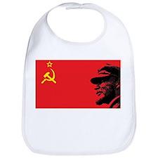 Lenin Soviet Flag Bib