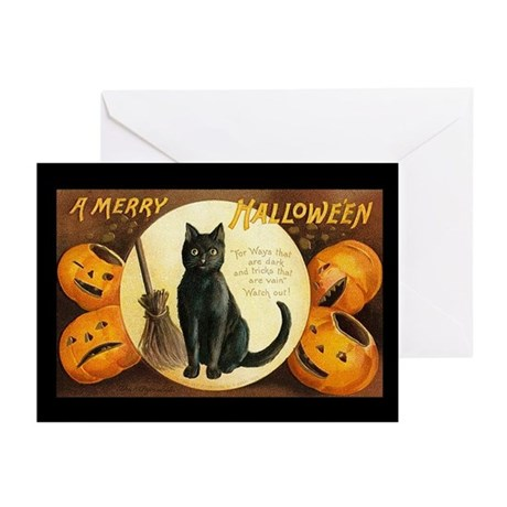 Merry Halloween Greeting Cards (Pk of 10)