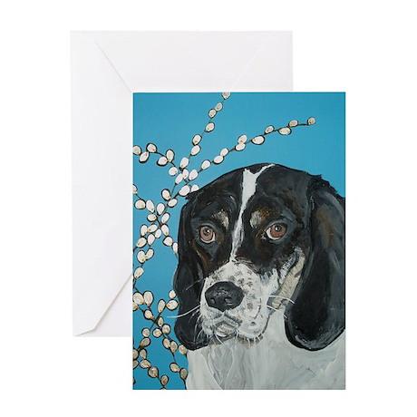 """Hound Dog"" Greeting Card"