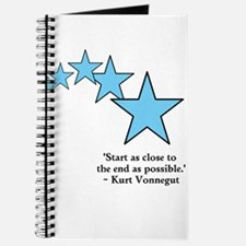 Start at the ending Journal