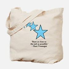 Start at the ending Tote Bag