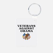 Veterans against Obama - Keychains