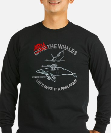 armthewhalesdark Long Sleeve T-Shirt
