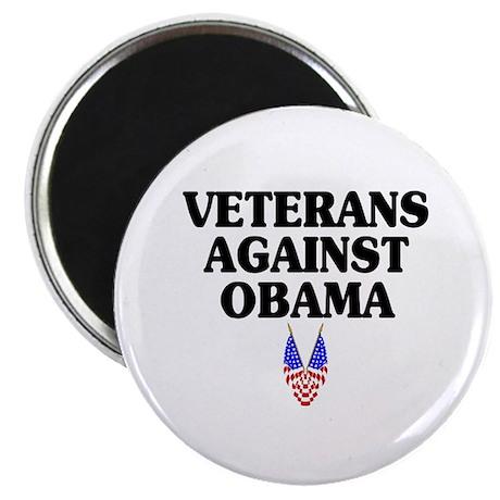 Veterans against Obama (old) - Magnet