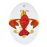 Fleurdecraw6atr.png Ornament (Oval)