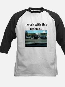 Parking asshole Kids Baseball Jersey
