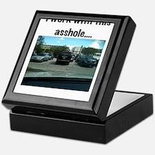 Parking asshole Keepsake Box