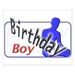 Birthday Boy Posters