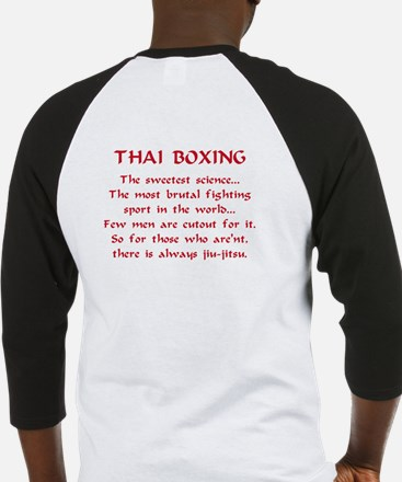 Muay Thai Fighter Baseball Jersey