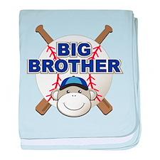 Big Brother Monkey baby blanket