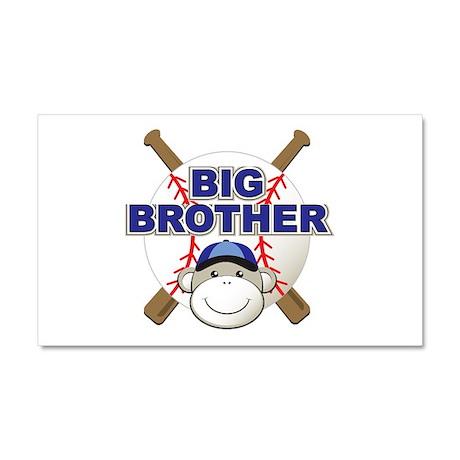 Big Brother Monkey Car Magnet 20 x 12