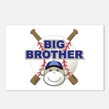 Big Brother Monkey Postcards (Package of 8)