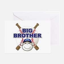 Big Brother Monkey Greeting Card