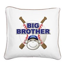 Big Brother Monkey Square Canvas Pillow