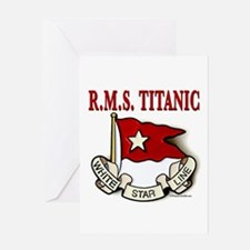 White Star Line: RMS Titanic Greeting Card