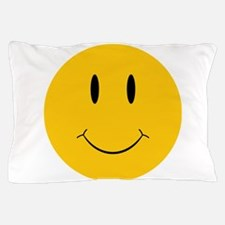 Happy Orange Face Pillow Case