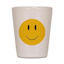 Happy Orange Face Shot Glass