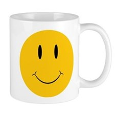 Happy Orange Face Small Mug
