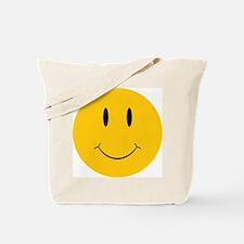 Happy Orange Face Tote Bag