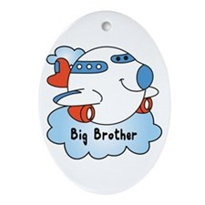 Big Brother Jet Ornament (Oval)