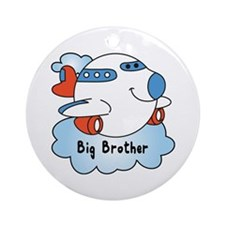 Big Brother Jet Ornament (Round)