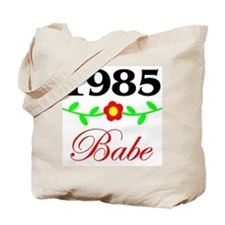 1985 Babe Tote Bag