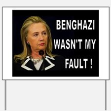 WHOSE FAULT IS IT? Yard Sign
