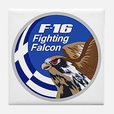 F-16 Falcon Tile Coaster