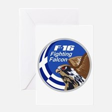 F-16 Falcon Greeting Card