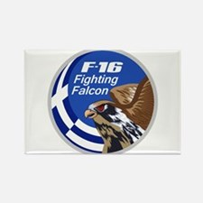 F-16 Falcon Rectangle Magnet