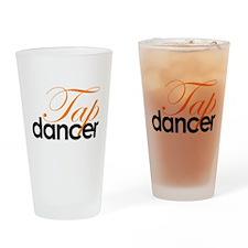 Tap Dancer Drinking Glass