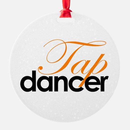 Tap Dancer Ornament