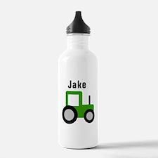 Jake Green Tractor Water Bottle
