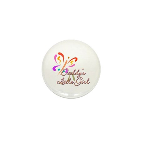 Daddy's Little Girl Mini Button (100 pack)