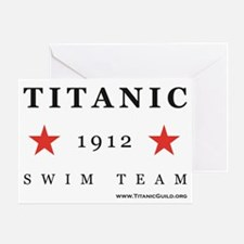 Titanic 1912 Swim Team Greeting Card