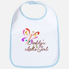 Daddy's Little Girl Cotton Baby Bib