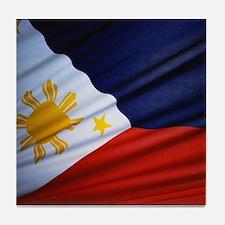 Filipino Pride Tile Coaster