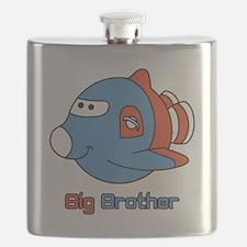 Big Brother Rocketship Flask