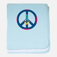 Guam Peace baby blanket