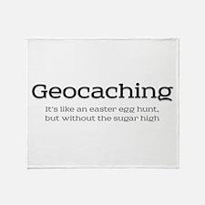Geocaching - Line an easter egg hunt Stadium Blan