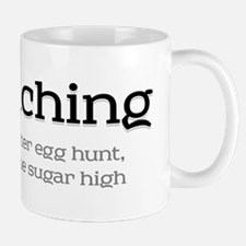 Geocaching - Line an easter egg hunt Mug