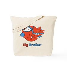 Big Bro Fighter Jet Tote Bag