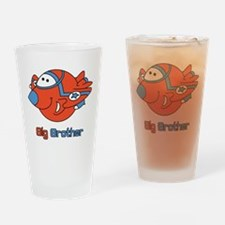 Big Bro Fighter Jet Drinking Glass